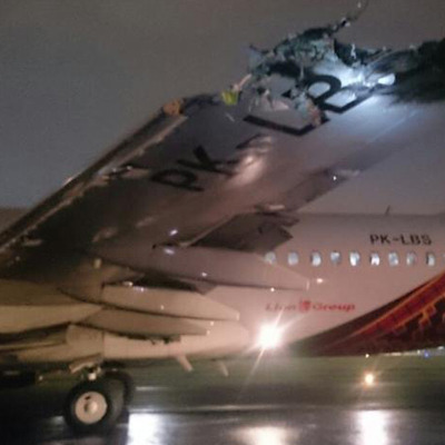 У Джакарті зіткнулися два літаки