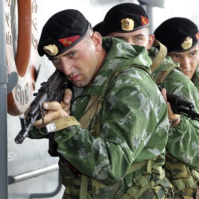 Під Широкіним зазнали втрат російські морські піхотинці