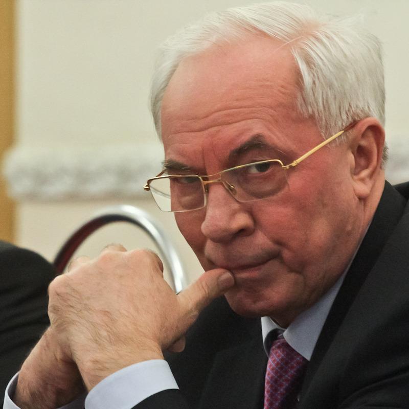 Порошенко, Турчинов, Тука: у Росії Азаров вигадав свій «список ворогів України»