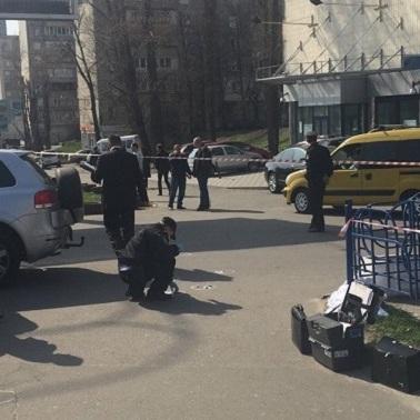 У Києві серед білого дня розстріляли бізнесмена