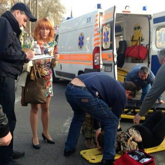 Серйозна ДТП в Києві: водій збив вагітну жінку (ФОТО)