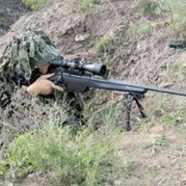 Під Маріуполем снайпер бойовиків обстріляв будинок місцевого жителя