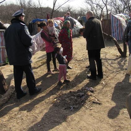 Цигани розбили табір на Лисій горі у Києві
