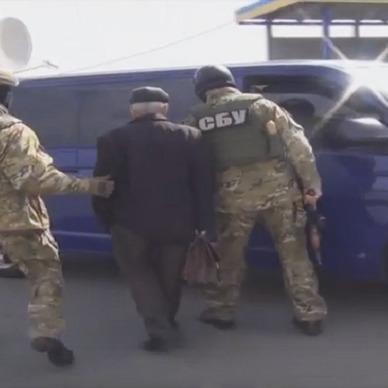 СБУ показала оперативне відео затримання російських шпигунів (ВІДЕО)