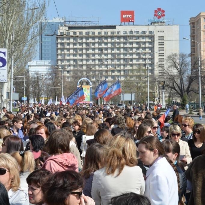 В «ДНР» святкують створення самопроголошеної держави