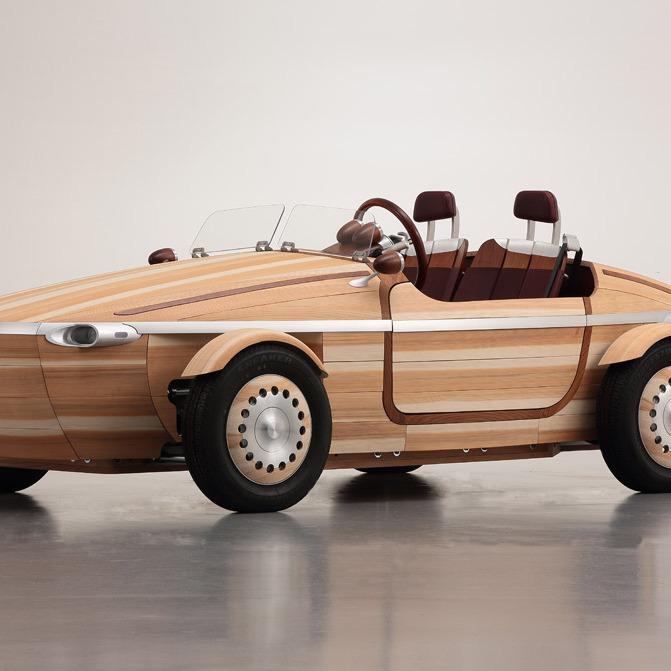 Toyota створила дерев'яну автівку