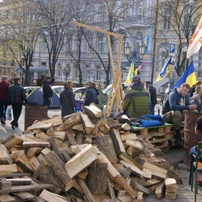 Політична вистава «прокурорський майдан» в Одесі