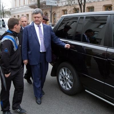 Порошенко запізнився на зустріч з БПП через затори в Києві - нардеп