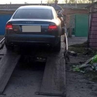У поліції показали автівку зниклого Тараса Познякова (ФОТО)