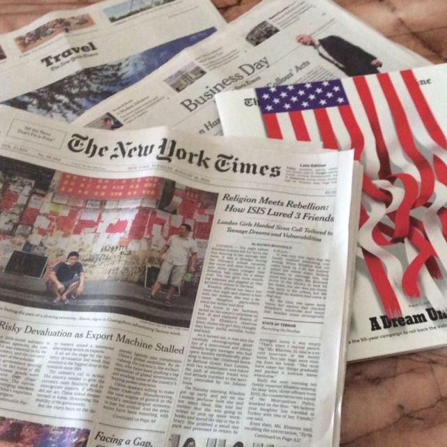 Від імені Порошенка ледь не дали фальшиве інтерв'ю газеті New York Times