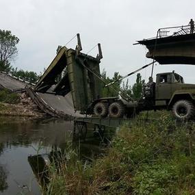 Російський спецназ підготував місця для понтонних переправ через Сіверський Донець