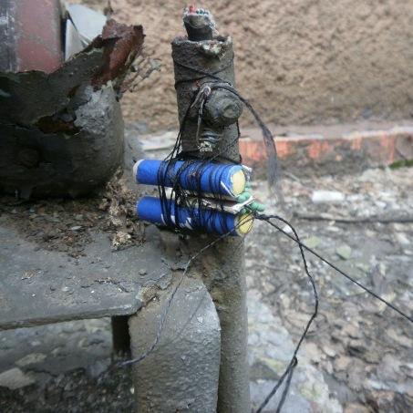 На Луганщині на розтяжці у власному дворі підірвався чоловік