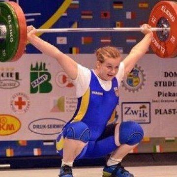 Українка стала чемпіоном Європи з важкої атлетики