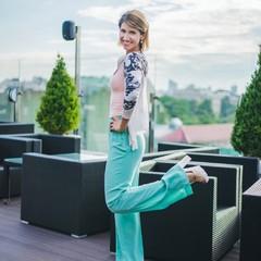 Вагітна Аніта Луценко вирішила почекати з одруженням