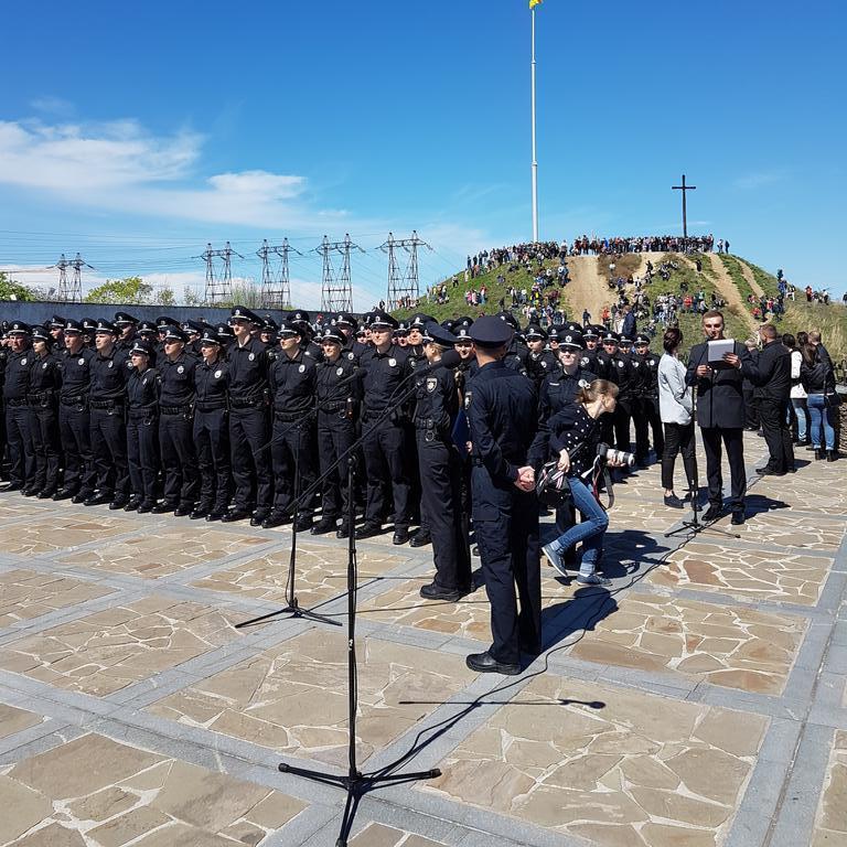 У Запоріжжі поліцейські склали присягу