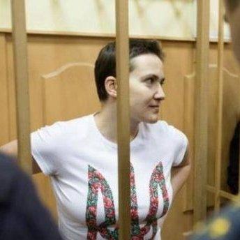 У Словаччині розвісили плакати на підтримку Савченко