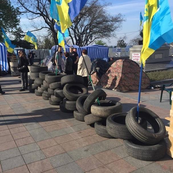 В Одесі протестували проти мера з російським паспортом
