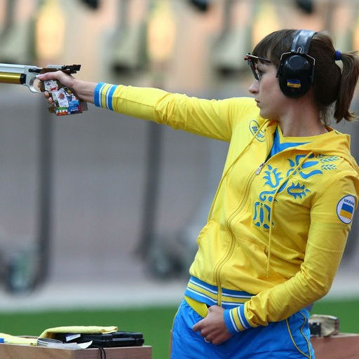Українка влучила в «золото» з пістолета