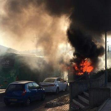 В Єрусалимі стався вибух в автобусі