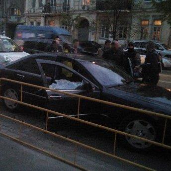 У центрі Києва затримали крадіїв автомобілів