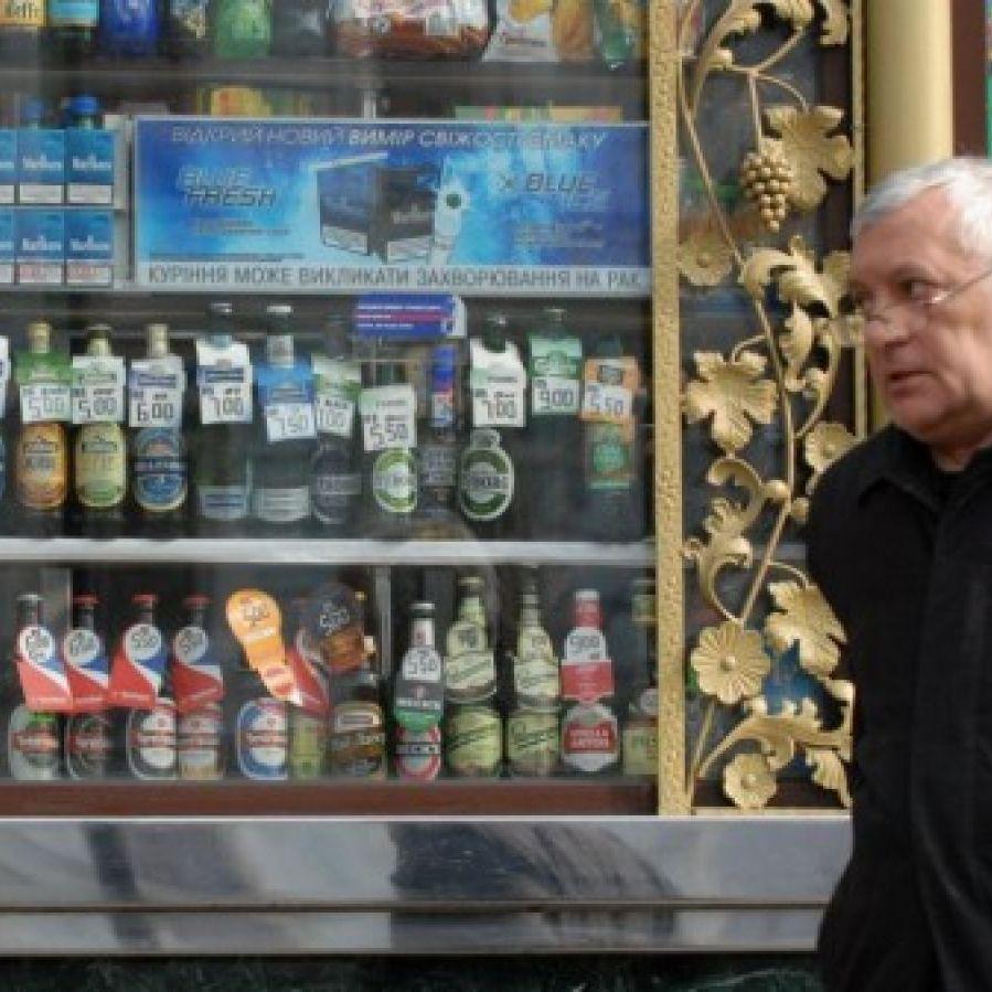 КМДА дозволила продаж алкоголю в МАФах до кінця дії ліцензії