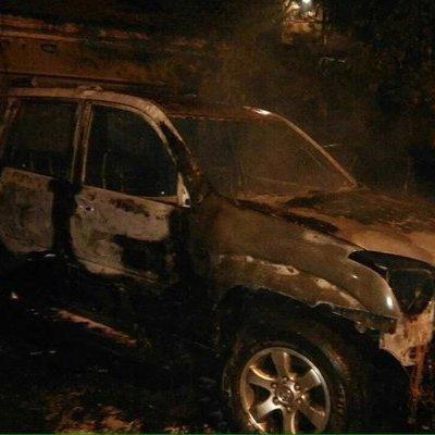У Харкові підпалили авто екс-депутата, він пов'язує це з Кернесом