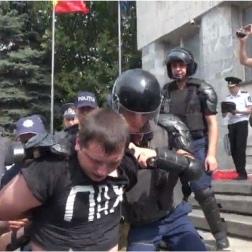 На акції протесту в Молдові постраждало 16 осіб