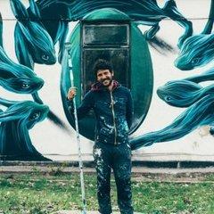 У Чорнобилі з'явився дивовижний мурал португальського художника