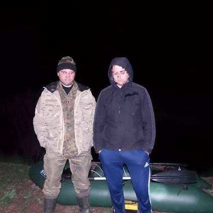 У зоні ЧАЕС поліцейські затримали браконьєрів (фото)