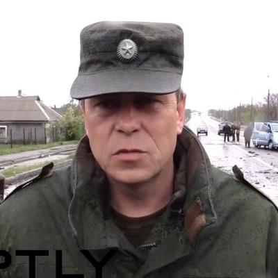 Бойовик Басурін заплутався у зброї, з якої ЗСУ нібито обстріляли Оленівку