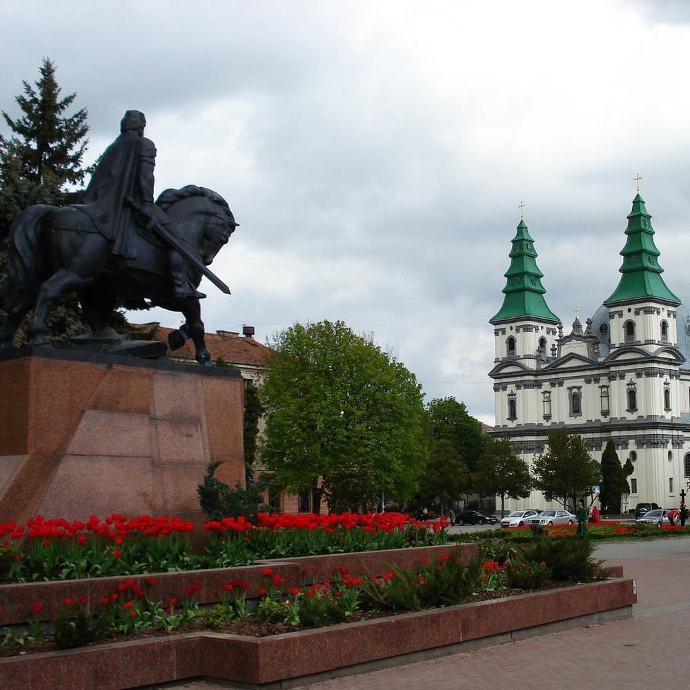 У Тернополі зробили першу в Україні бронзову тривимірну карту (ВІДЕО)