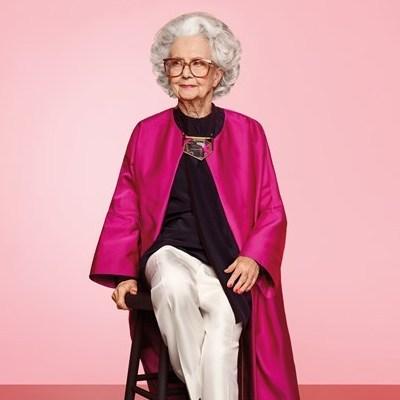 У фотосесії відомого журналу взяла участь 100-річна жінка (фото)