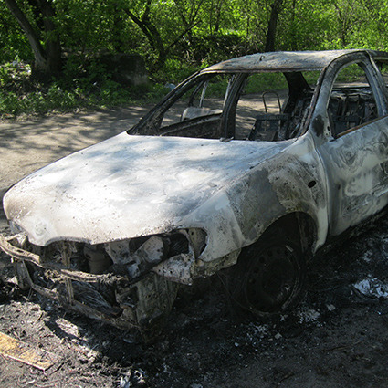 На Дніпропетровщині чоловік підірвав автівку партнера по бізнесу