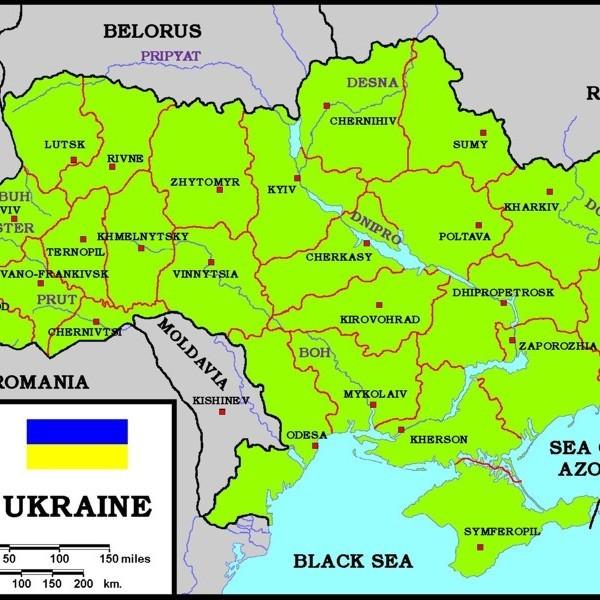 Запорізький телеканал отримав попередження за карту України без Криму