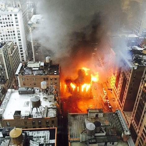 У Нью-Йорку згорів православний храм