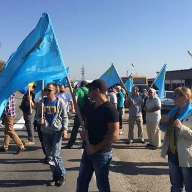 18 травня кримські татари проведуть масштабний мітинг на адмінкордоні з Кримом