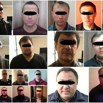 У Красноармійську затримали 12 «ворів у законі» з «ДНР»