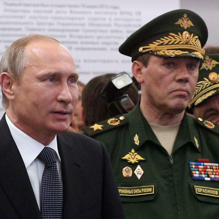 Путін присвоїв звання Героя Росії генералу Герасимову, який керував операцією під Іловайськом