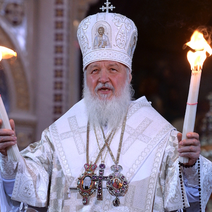 Патріарх Кирило назвав операцію Росії в Сирії «священною війною»