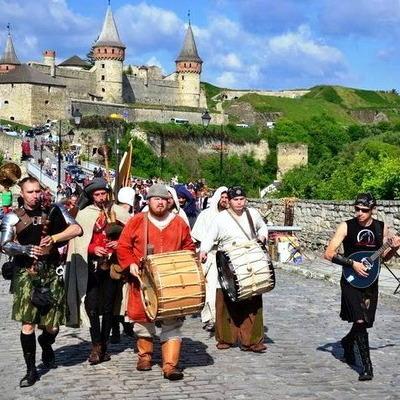 У Кам'янець-Подільську проходить традиційний фестиваль «Форпост»