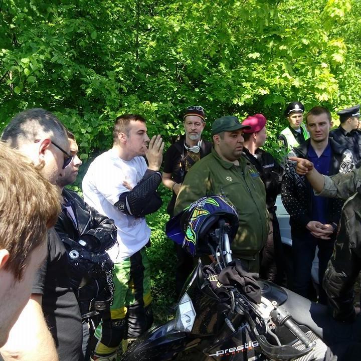 У Харкові сталася стрілянина за участю проросійських байкерів