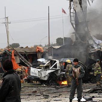В Афганістані смертник на авто підірвав себе
