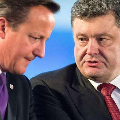 У канцелярії Кемерона не хочуть коментувати причини скасування візиту Петра Порошенка