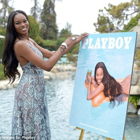 Playboy обрав дівчиною року афроамериканку (фото)