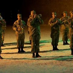 Військовий оркестр виконав гімн України під землею (ВІДЕО)