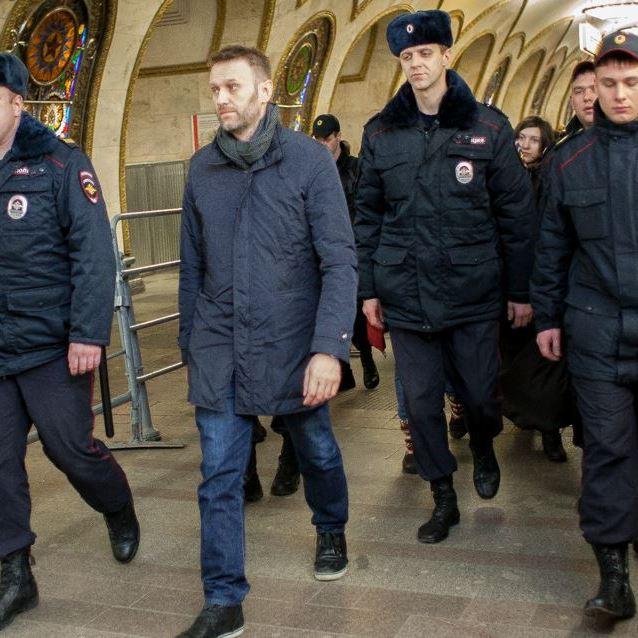 Головного опозиціонера Росії затримали в Краснодарі