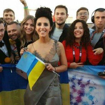 Російському каналу LifeNews заборонили спілкуватись з Джамалою у Стокгольмі (ВІДЕО)