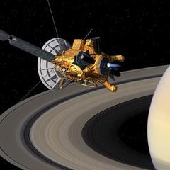 Космічний апарат заглянув в саме серце полярного урагану Сатурна (фото)