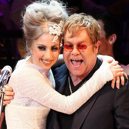 Леді Гага та Елтон Джон стали кутюр'є (фото)