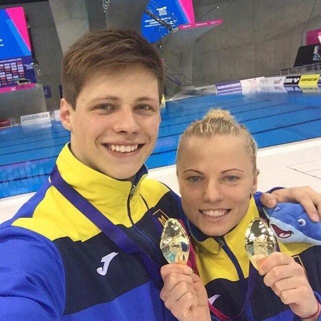 Українські спортсмени зі стрибків у воду стали найкращими в Європі